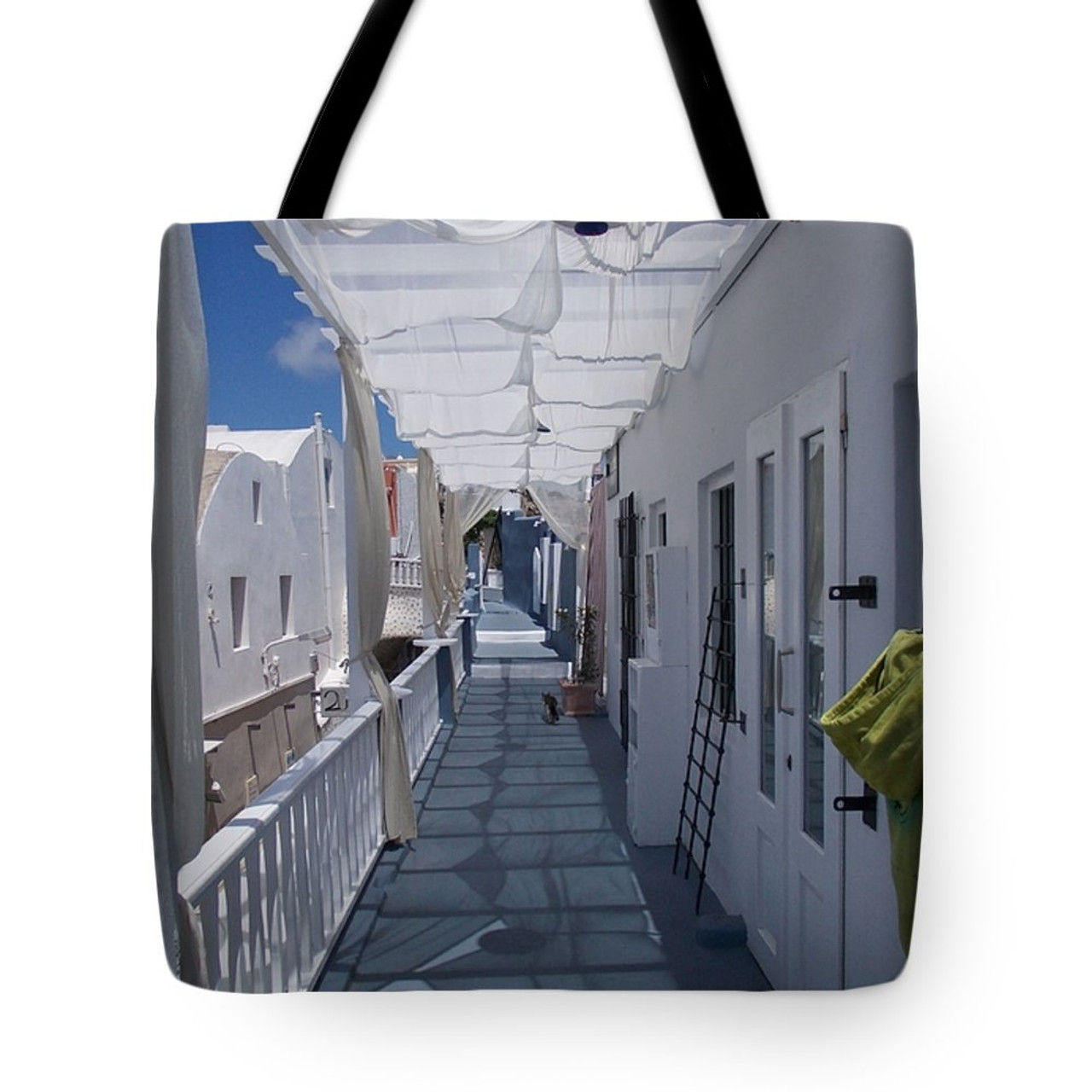 Santorini Tote bag- purchase here.