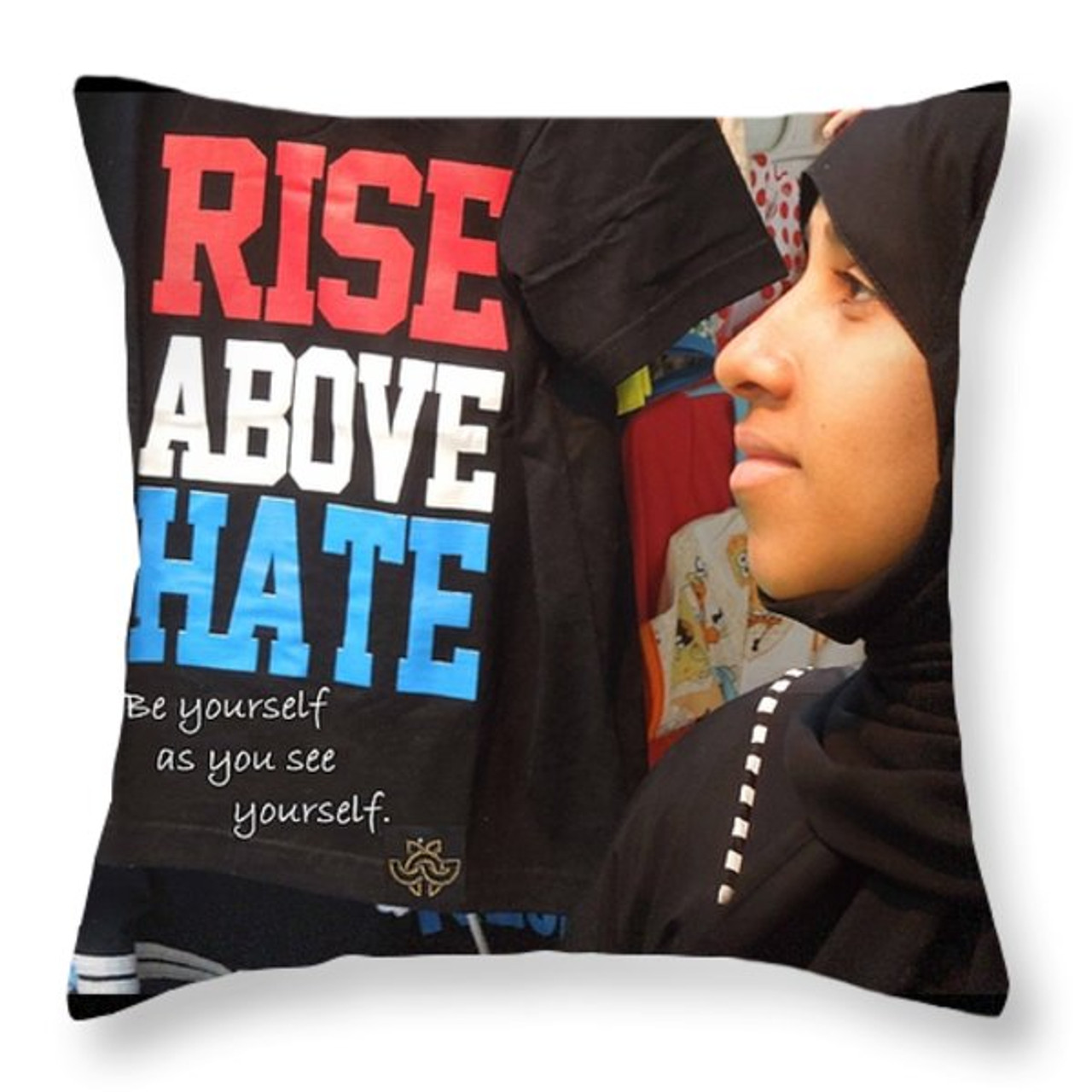 Throw pillow. Purchase here!