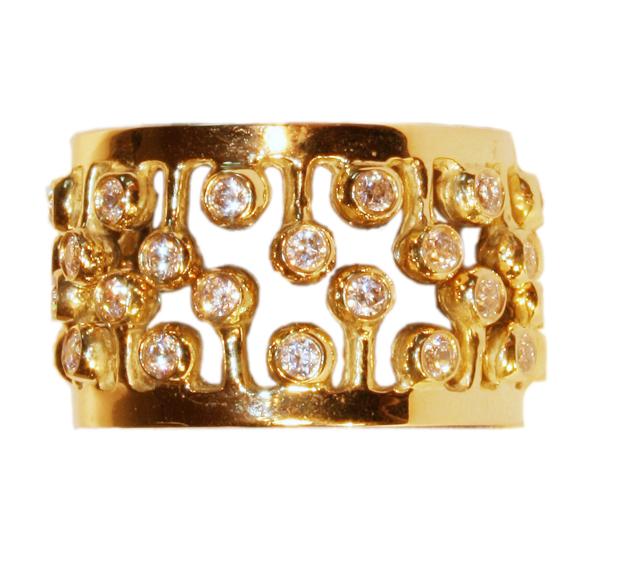 Crown Ring-Fullest-18K
