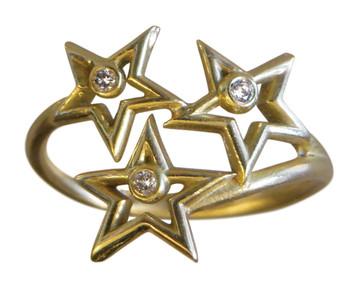 Stars Ring-14K