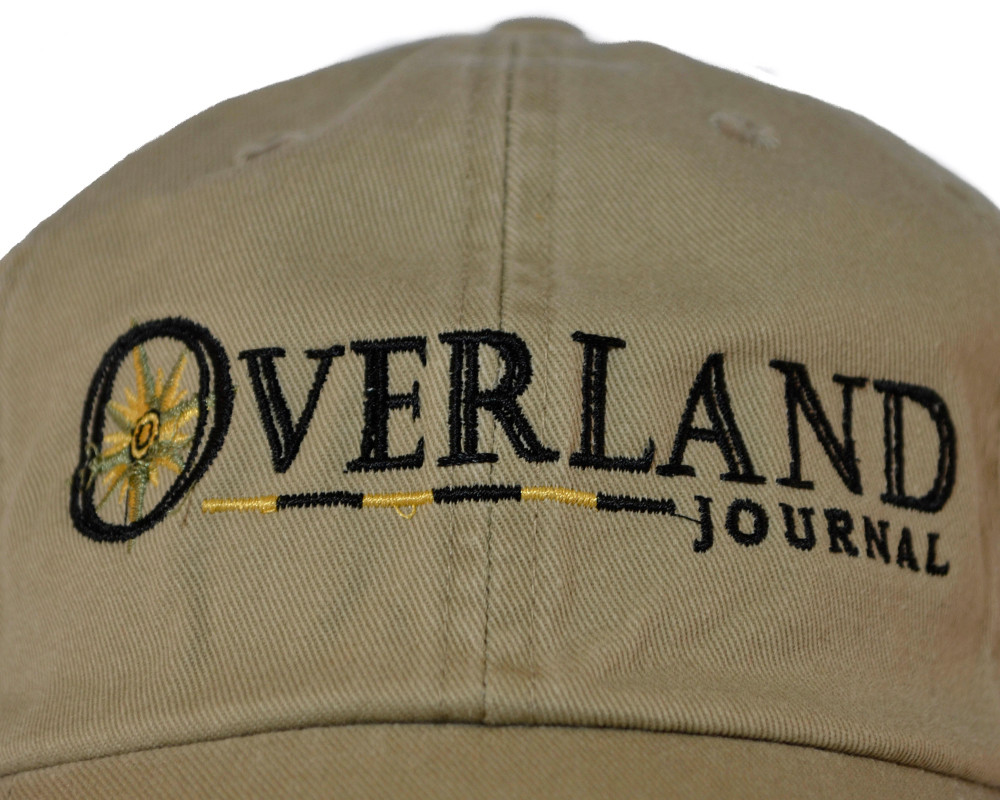 Overland Journal Khaki Hat