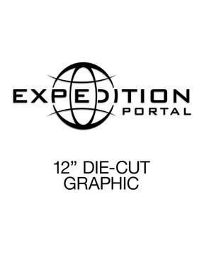 Expedition Portal Large Die-Cut Decal