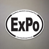 Expedition Portal Oval Decal
