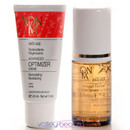 •Optimizer Serum and Creme with Hibiscus and Lupine Peptides •All skin types   •Lift Effect - Firming Booster- Redensifying