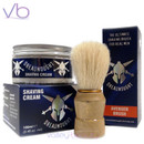 Dreadnought Shaving Cream With Avenger Brush