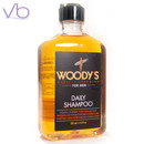 Woody's Paraben Free Daily Shampoo Retail Size