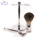Razor MD CR 17 Chrome Shave Set