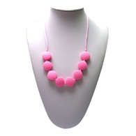 Teething Necklace FK023 Pink