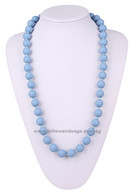 Teething Necklace NK029 Pastel Blue