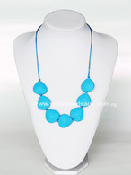 Teething Necklace NK029 Sky Blue