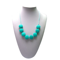 Teething Necklace FK023 Turquoise