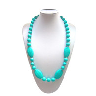 Teething Necklace FK006 Turquoise