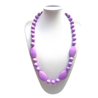 Teething Necklace FK006 Violet