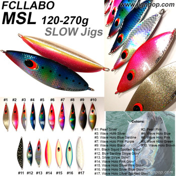 FCLLABO MSL Slow Jig (120~270g)