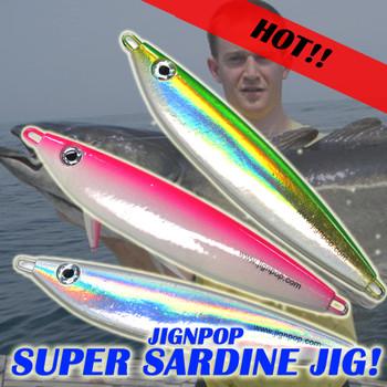 JIGNPOP Super Sardine Jig
