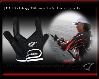 Jigging Master 2012 New Fishing Glove(Jigging Specialty , Left Hand Only)
