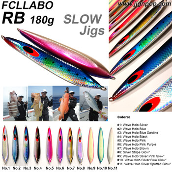 FCLLABO RB Slow Jig (180g)