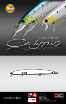 N.S Calypso Minnow 145F-SR (Floating) Lure
