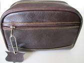 Shave & Toiletry bag~Havana brown