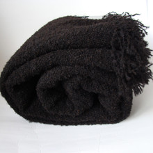 Dark Chocolate Throw Blanket
