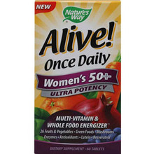 ALIVE! ONCE DAILY WOMEN'S 50+
