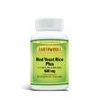 Dave Hawkins' EarthWorks PL Vitamin RED Yeast Rice Plus With Coq10 NAC & milk Th 600 mg 60 Vcaps