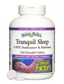 Natural Factors Stress-Relax Tranquil Sleep Chewable 120 Tabs