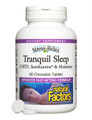 Natural Factors Stress-Relax Tranquil Sleep Chewable 60 Tabs