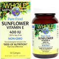 Natural Factors Sunflower Vitamin 90 SG