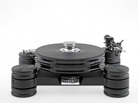 Transrotor Dark Star Turntable. Now at True Audiophile.