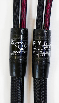 Stage III Kyros Precision Silver Speaker Cables NEW.  Pure solid silver Aerostrand. True Audiophile.