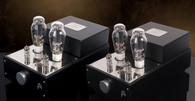 Audion Silver Night 300B Anniversary Push Pull Hard Wired Mono Blocks. Now at True Audiophile. Exclusive U.S. Importer for Audion tube equipment.