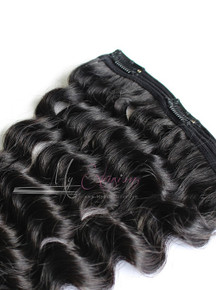 Clip Ins - Whisper Deep Wave - 5.0 - 100% Cambodian