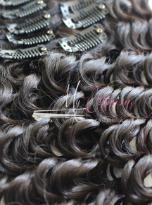 Clip-Ins - Exotic Natural Curly  7.0 - 100% Mongolian