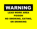 &#039;WARNING&#039; Signs - 100 pack