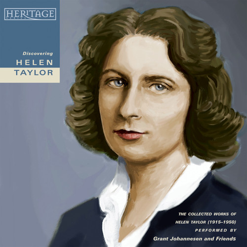 Discovering Helen Taylor [CD] - Grant Johannesen and Friends