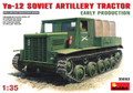 MINIART 35052 - 1/35 Ya-12 Soviet Artillery Tractor - Early Production