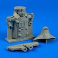 AEROBONUS 100 002 - 90mm Mascot for A-7 Corsair II
