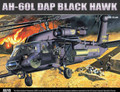 ACADEMY MINICRAFT 12115 - 1/35 AH-60L DAP Black Hawk