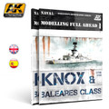 AK INTERACTIVE AK 098 - Modelling Full Ahead: Knox & Baleares Class - ENGLISH