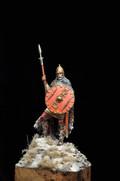 ALEXANDROS MODELS DAM/43 - 75mm Frankish Warrior, V-VI Century A.D.