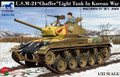 BRONCO MODELS CB35139 - 1/35 U.S. M-24 Chaffee Light Tank in Korean war