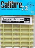 CALIBRE 72002 - 1/72 Railway Section