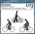 CMK ML80342 - 1/72 Guards with Bicycle