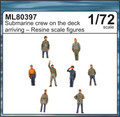 CMK ML80397 - 1/72 Submarine Crew on the Deck Arriving