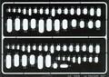EDUARD 00006 - Ovals (Photoetch)