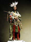 PEGASO MODELS 75-030 - 75mm Hidatsa Warrior