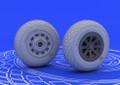 EDUARD 648092 - 1/48 P-51 Wheels