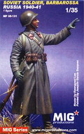 MIG PRODUCTIONS MP 35-131 - 1/35 Soviet Soldier, Barbarossa, Russia 1940-41