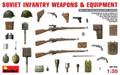 MINIART 35102 - 1/35 Soviet Infantry Weapons & Equipment